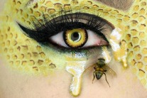 This Makeup Artist Uses Real Bugs